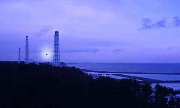 Sorprendente video de flota de OVNIS sobre la planta de Fukushima