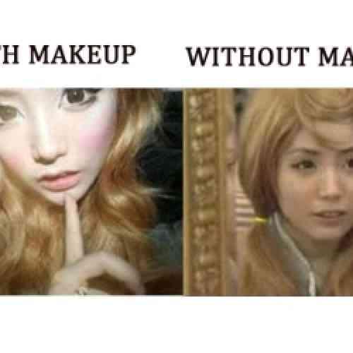 Joven aparenta 40 años por pasar 800 días sin quitarse el maquillaje