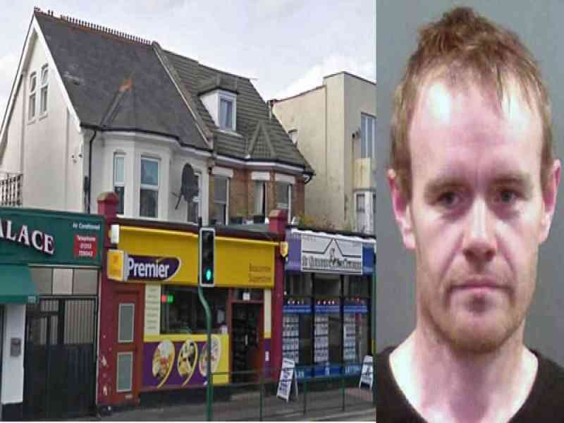 Un ladrón dejó rastro del dinero robado por el camino hasta su casa
