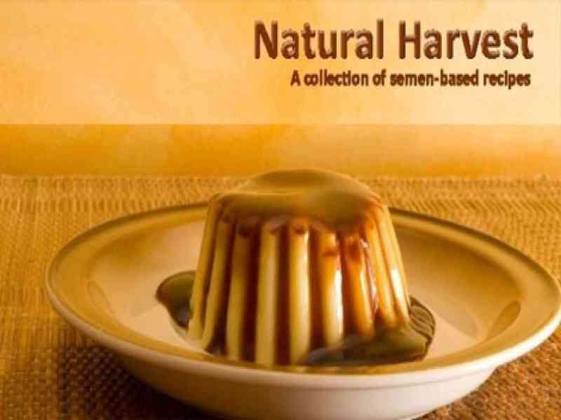 Libro de recetas a base de semen