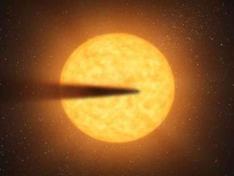 La NASA descubre un posible planeta que se va evaporando lentamente
