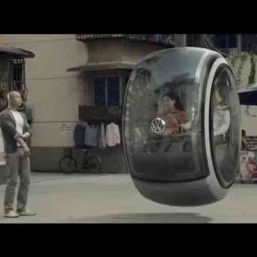 El coche volador de VW