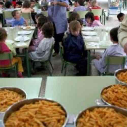 Detectan gusanos en la sopa servida en el comedor de un colegio en Alicante