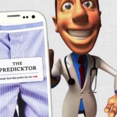 'The Predicktor', una nueva aplicación de smartphone para adivinar el tamaño del pene de un hombre