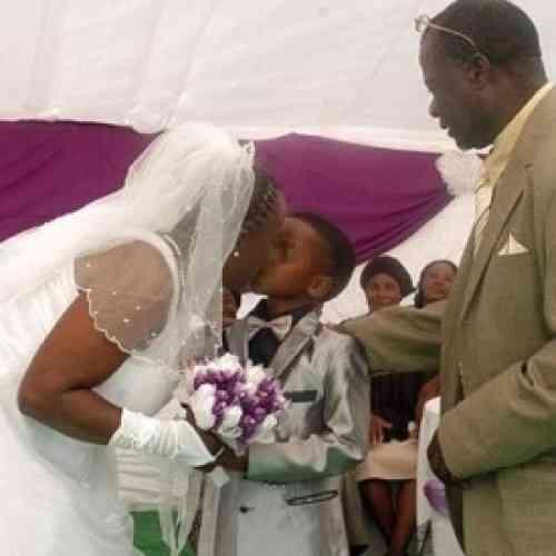 Un niño de ocho años se casa con una mujer de 61 años en Sudáfrica