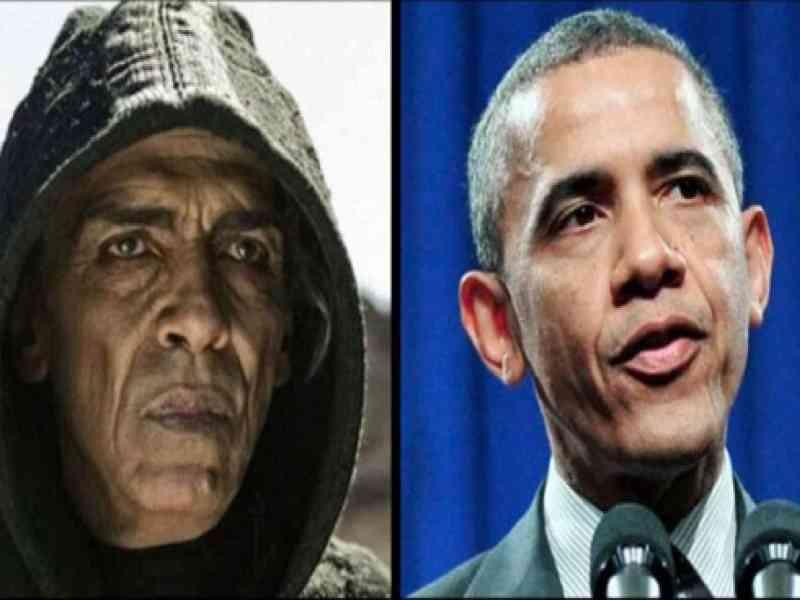 Obama, idéntico al satanás de La Biblia del Canal Historia que se emitirá en Semana Santa en Antena 3