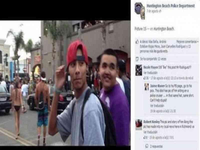 """Detenido después de poner """"me gusta"""" en el Facebook de la policía"""