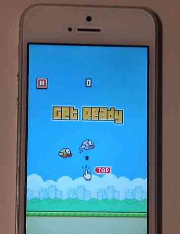 La puja por un iPhone 5S con Flappy Bird instalado alcanza los 99.900 dólares