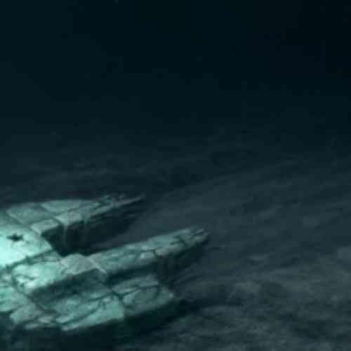 Búsqueda de un ovni bajo el mar Báltico