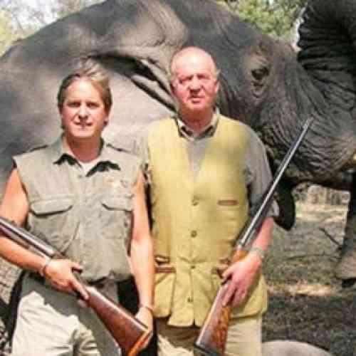 El Rey de España se va de caza mayor a Botsuana y sufre un accidente